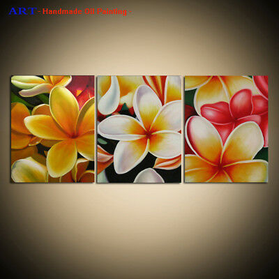Large MODERN Contemporary Flower ABSTRACT OIL PAINTING On Canvas Wall Art Decor