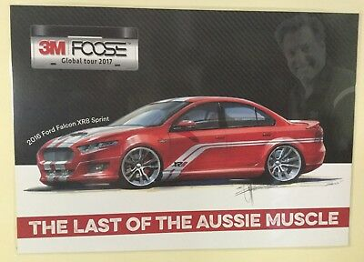 2016 Ford Falcon XR8 S Sprint Chip Foose The Last Of The Aussie Muscle poster