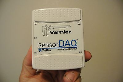Vernier National Instruments Sensordaq Sensor Daq  4Ch Usb Ni Labview Data