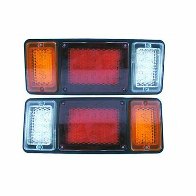 2X 12V LED Trailer Lights Tail Lamp Stop Indicator 4WD 4X4 Boat Submersible