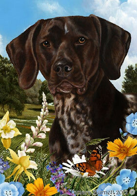 Large Indoor/Outdoor Summer Flag - German Shorthaired Pointer 18049