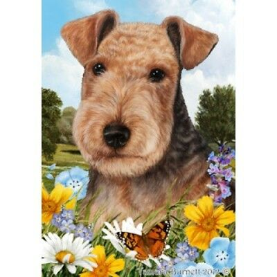 Large Indoor/Outdoor Summer Flag - Lakeland Terrier 18234