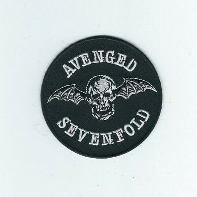 Avenged Sevenfold Bat Circle Embroidered Patch !