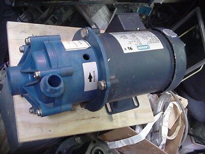 New finish thompson FTI KC6 mag magnetic drive centrifugal pump 1/2hp 3ph