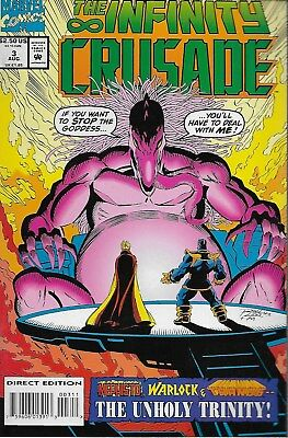 The Infinity Crusade No.3 / 1993 Thanos / Jim Starlin & Ron Lim
