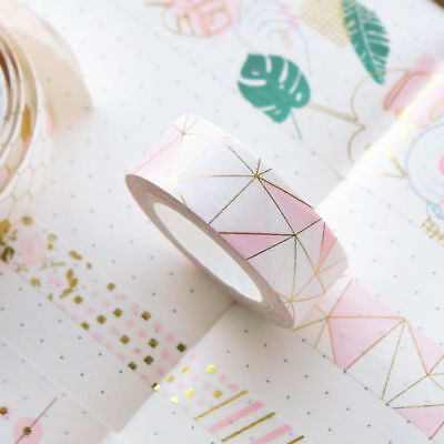 Luxury Foil Paper Washi Kawaii Stationery Scrapbooking Decorative Tapes