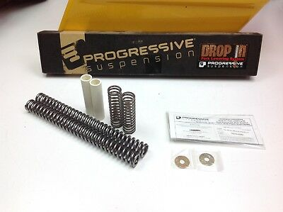 """Progressive -2"""" Front Lowering Kit Harley Softail Touring Wide Glide"""