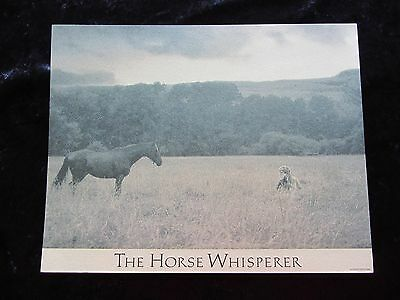 THE HORSE WHISPERER lobby card # 1 ROBERT REDFORD