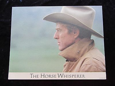 THE HORSE WHISPERER lobby card # 3 ROBERT REDFORD