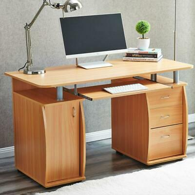 New Computer Desk PC Laptop Table w/Drawer Home Office Study Workstation 3 Color