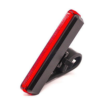 Cycling Night Super Bright Red LED Rear Tail Light Bicycle 4 Modes Lamp