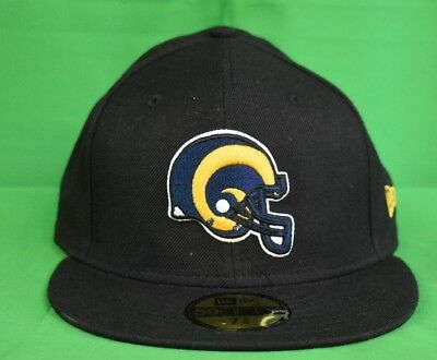 5baf5e1f365 NEW ERA 59FIFTY Mens NFL Los Angeles Rams Fitted Hat Cap New 7 3 4 ...
