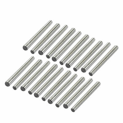 20 Pcs 4mm Small End Diameter 45mm Length GB117 Carbon Steel Taper Pin