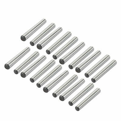 20 Pcs 3mm Small End Diameter 25mm Length GB117 Carbon Steel Taper Pin