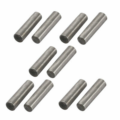 10 Pcs Carbon Steel GB117 3mm Small End Diameter 12mm Length Taper Pin