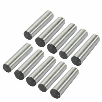 10 Pcs 8mm Small End Diameter 35mm Length GB117 Carbon Steel Taper Pin