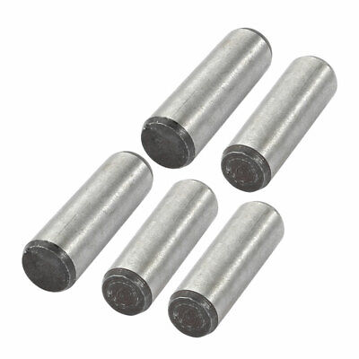 5 Pcs 6mm Small End Diameter 20mm Length GB117 Carbon Steel Taper Pin