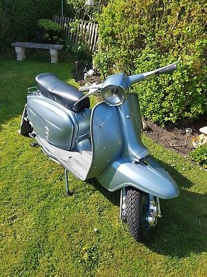 lambretta 1965 LIS125cc  (150cc) learner legal Italian MAY PART- EXCHANGE