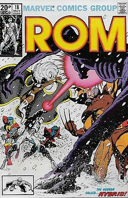 Rom No.18 / 1981 Guest-Starring: The X-Men / Frank Miller Cover