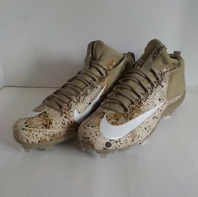 Nike Mike Forelle 3 Metall Baseball Stollenschuhe WÜSTE CAMOUFLAGE 856503 212