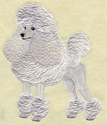 Embroidered Long-Sleeved T-Shirt - Poodle I1179 Sizes S - XXL