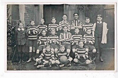Football - R/p - Thorn Green Primary School, Thorn, Doncaster, Yorkshire, 1909