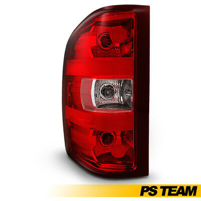 Left Tail Light Driver Side Replacement For 2007-2013 Silverado Pickup Truck