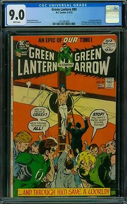 Green Lantern 89 CGC 9.0 - White Pages