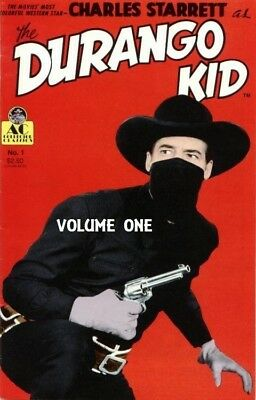 The Durango Kid ~ 12 Classic Westerns on 2 Dvd's ~ Charles Starrett ~ Vol 1