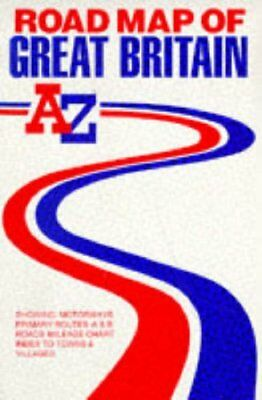 Great Britain Map: Road Map by Geographers' A-Z Map Company Sheet map, folded