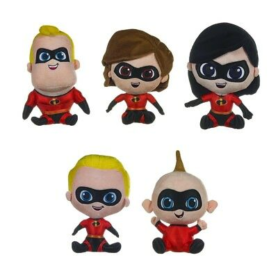 The Incredibles - Character 12 Inch Plush - New & Official Disney / Pixar