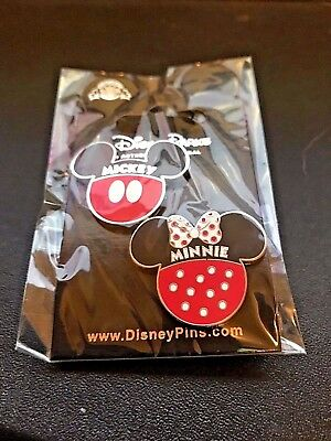 Disney pins Mickey And Minnie Icons 2 Pin Set
