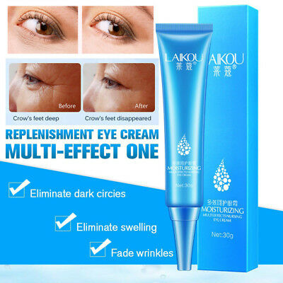Eye Cream Gel For Dark Circles Puffiness Wrinkles Bags Effective Anti-Aging UK