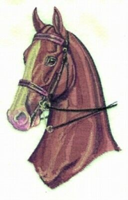 Large Embroidered Zippered Tote - Three Gaited Horse BT2715