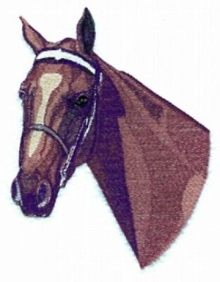 Large Embroidered Zippered Tote - American Saddlebred Horse BT2475