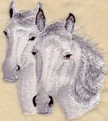 Large Embroidered Zippered Tote - Connemara Horse M1089