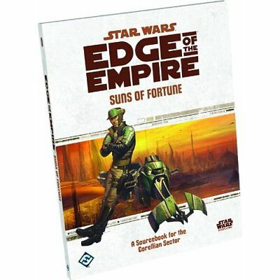Star Wars Edge of the EmpireRPG: Suns of FortuneSourc - Hardcover NEW Games, F