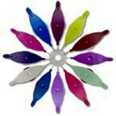 Aerlit Tatting Shuttle with Two Bobbins-Your choice of  colors
