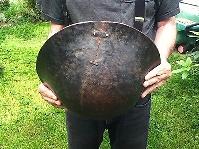 Large Antique West African Bowl Akan Baule Folk Art Decorator Tribal Primitive