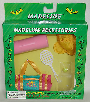 """Madeline 8"""" Doll Workout Accessories Set NEW In Box!"""