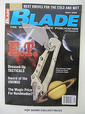 The Blade  Magazine    May  2005   Sword Of The Vikings
