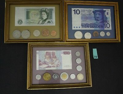 PAPER CURRENCY Lot of 37 FOREIGN BILLS Canada Dollars Thai Baht ...