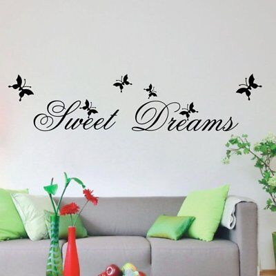Removable Kitchen PVC Word Decals Vinyl DIY Home Room Decor Art Wall Stickers