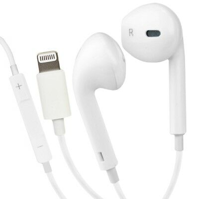 Genuine Apple iPhone 7, 8, X, EarPods Lightning Connector MMTN2AM/A A1748 White