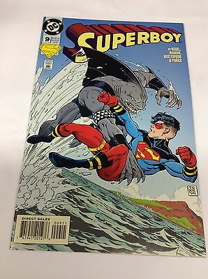 SUPERBOY #9 (DC/1st KING SHARK/SUICIDE SQUAD MOVIE/081540) COMIC BOOK LOF OF 1