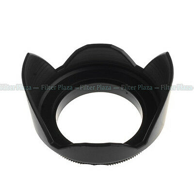 82mm 82 mm Lens Hood Flower Crown Petal Shape Screw Mount for Canon Nikon Pentax
