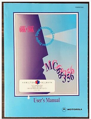 Motorola MC68356 Signal Processing Communication Engine Data Book