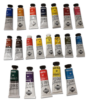 Daler Rowney Designers Gouache 15ml Tube Artist Paint Various Colours Available