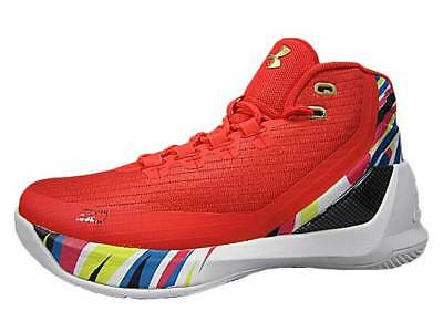 f3d96ecd87f0 Under Armour Gs Curry 3 Chinese New Year Red Multi-Color 1274061 984 Kid  Sizes