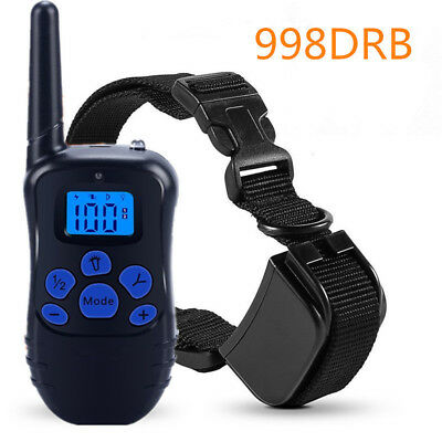 Petrainer PET998DRB Dog Training Collar Rechargeable and Rainproof 330yd Remote